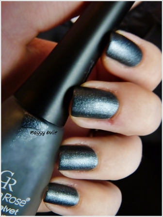 Golden Rose Collection Matte Velvet - 108 Anthracite Grey