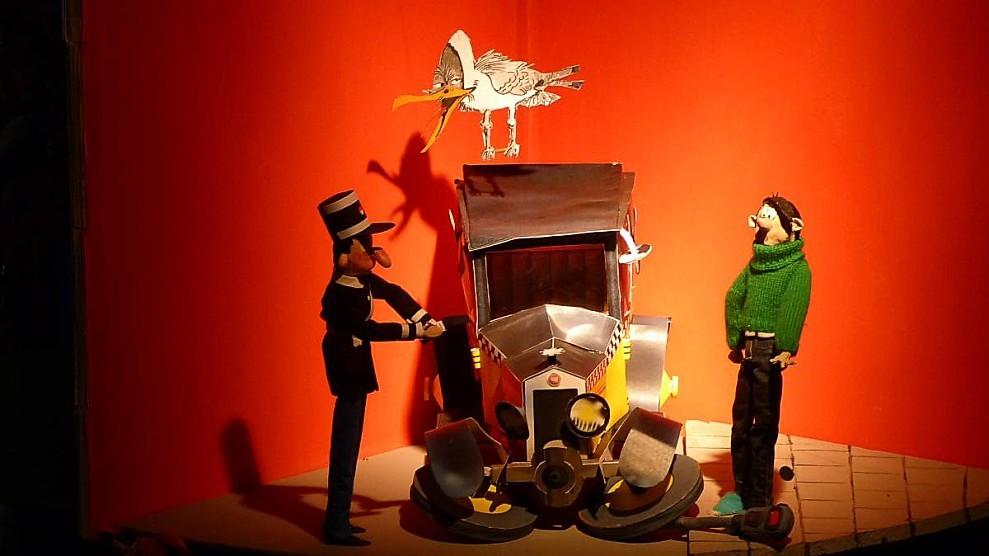 Gaston et le gendarme