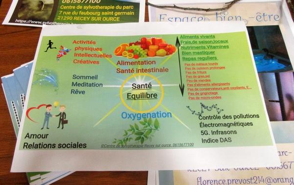 """""""Sylvothérapie, les bienfaits de l'arbre et de la forêt"""" une vivifiante conférence de Florence Guérin, initiée par  les Amis d'Aignay et des Alentours"""
