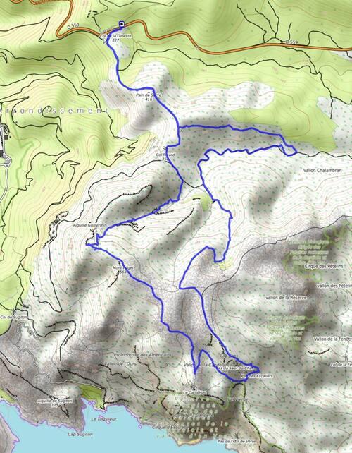 Le mont Puget par le vallon Mestrallet