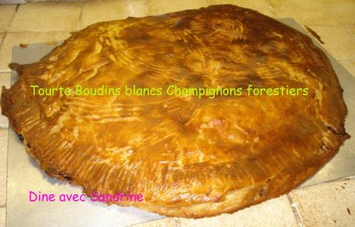 Ma Tourte Boudins blancs - Champignons forestiers