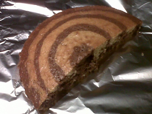 Gâteau tigré d'Aurore