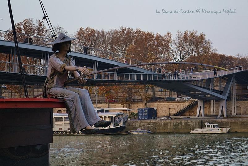 Port de la Gare, Paris 13ème : La Dame de Canton