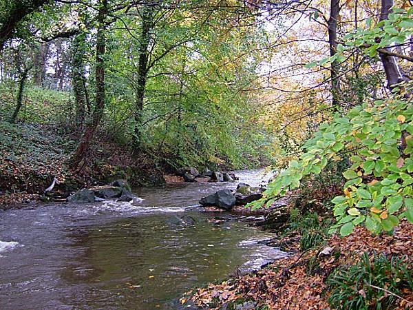 La rivière Glass, qui a donné son nom à la capitale de l