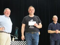 Superbe victoire de Patrick Lauferon du club de Gueugnon pour notre célèbre tournoi annuel.