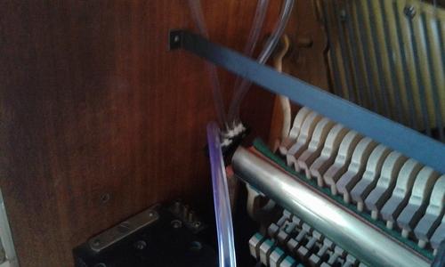 Remplacement du circuit d'air soufflets/pédale/etc