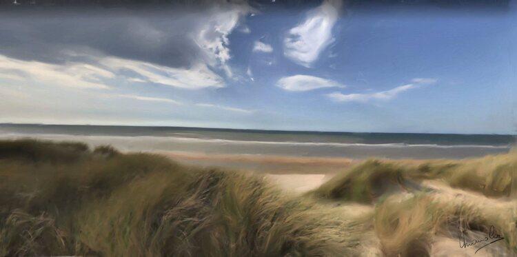 Les dune prés de Port Vendre