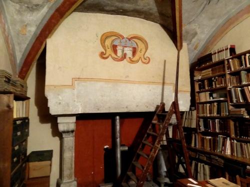Visite du fonds ancien de la Bibliothèque Municipale de Châtillon sur Seine