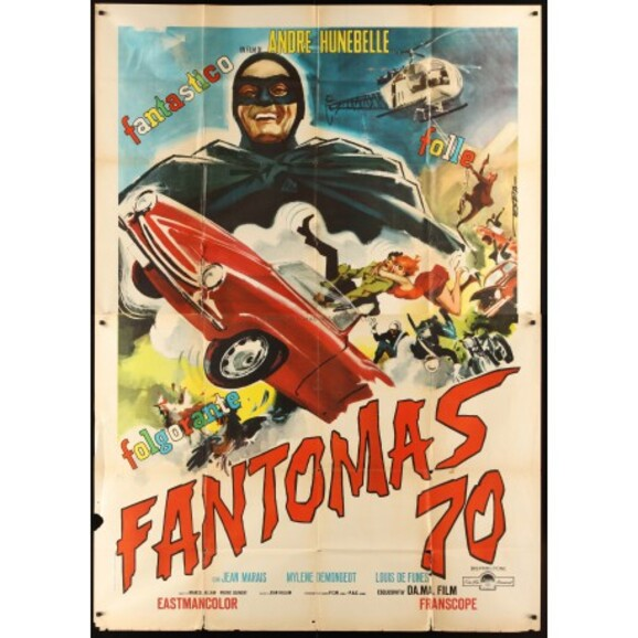 FANTOMAS -  LOUIS DE FUNES BOX OFFICE 1964
