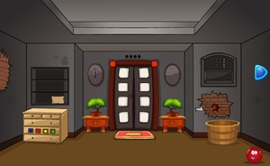 Jouer à Cracked toon house escape