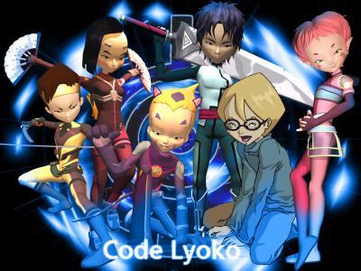Les personnages de code lyoko