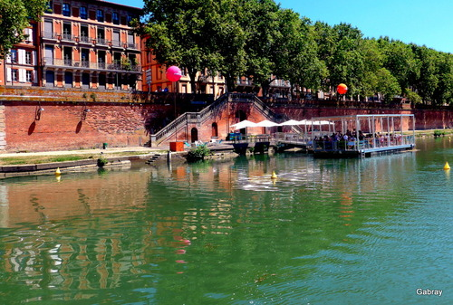 Toulouse : promenade en péniche sur la Garonne ... n 2