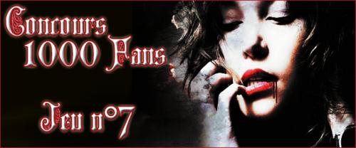 Concours 1000 Fans - Jeu n°7