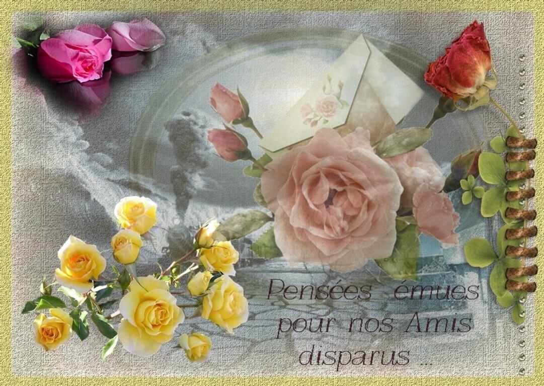 Pensées émues pour nos amis disparus http://dansmacampagne33.eklablog.com/