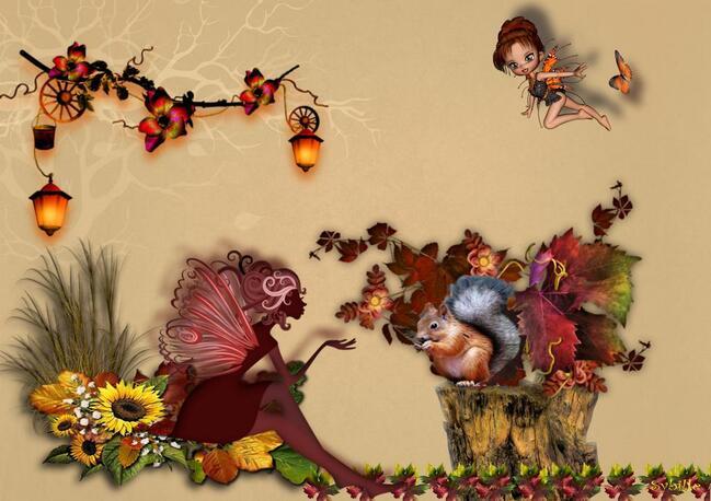 Bel automne à tous...