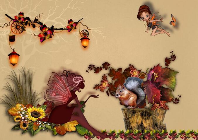 Le bel automne...