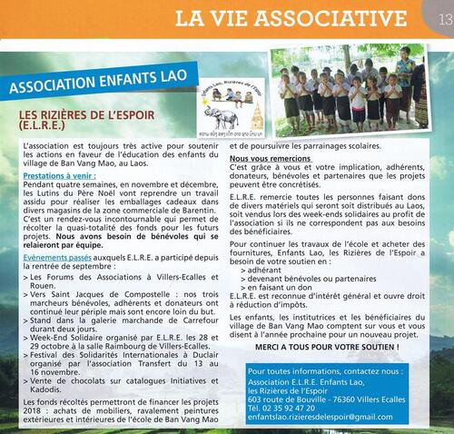 Article journal municipal - novembre 2017