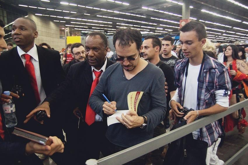 Alexandre Astier au Comic Con / Japan Expo 2012