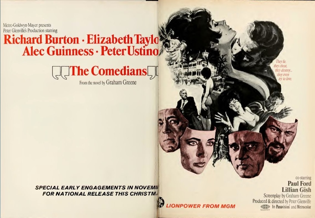 THE COMEDIANS BOX OFFICE USA 1967