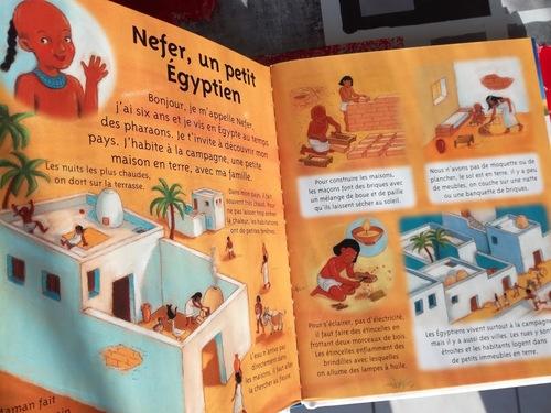 Idée lecture: Au temps des égyptiens 2