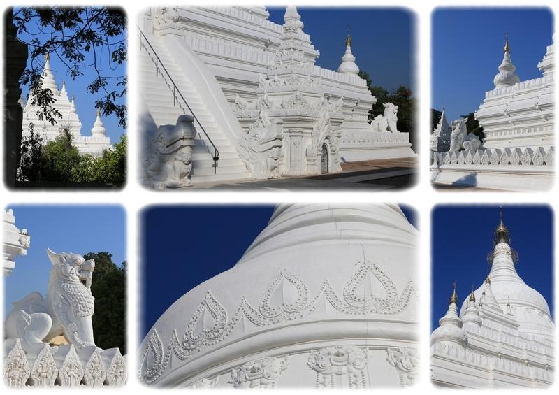 Jour 2 - Les anciennes capitales royales Amarapura, Sagaing et Inwa