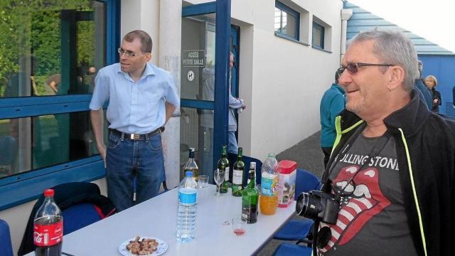 Ludovic Lancien, à gauche, attend beaucoup de la saison prochaine.