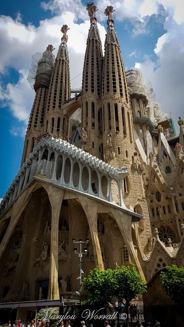 Barcelone : La basilique Sagrada Familia