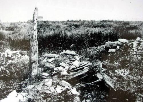 Le ravin de la Mort et Fleury devant Douaumont