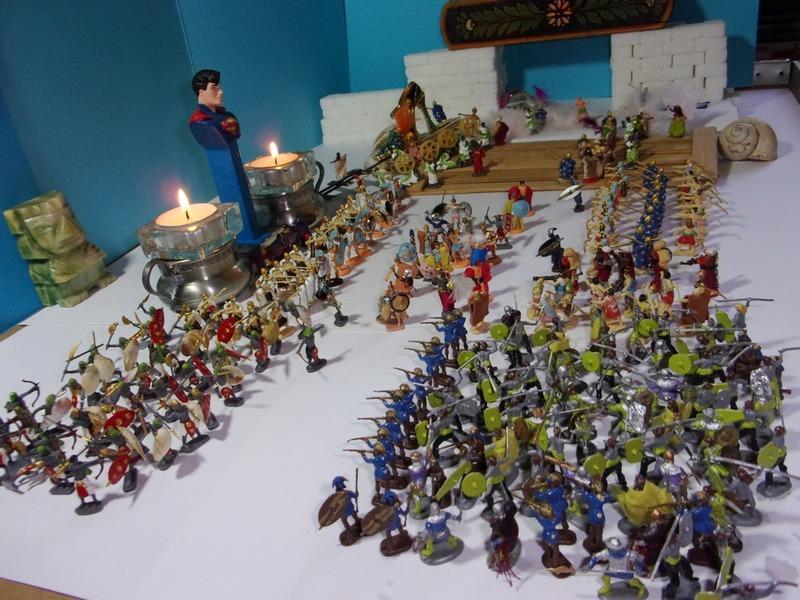 Aujourd'hui : L'empereur Catudila marie sa cousine, puis il passe en revue ses légions et enfin, la nouvelle maison de Sergiane