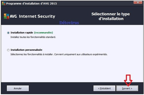 Avg Internet Security 2015 - Licence 1 an et 4 ans gratuits