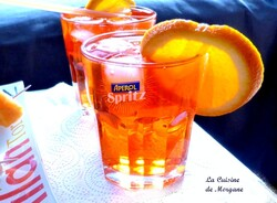 Faut que ca Spritz ce soir (recette de l'Aperol Spritz)