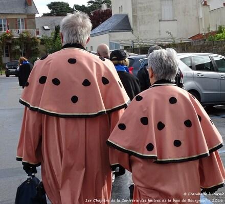 Confrérie des Compagnons de l'Huitre de la Baie de Bourgneuf - 2016