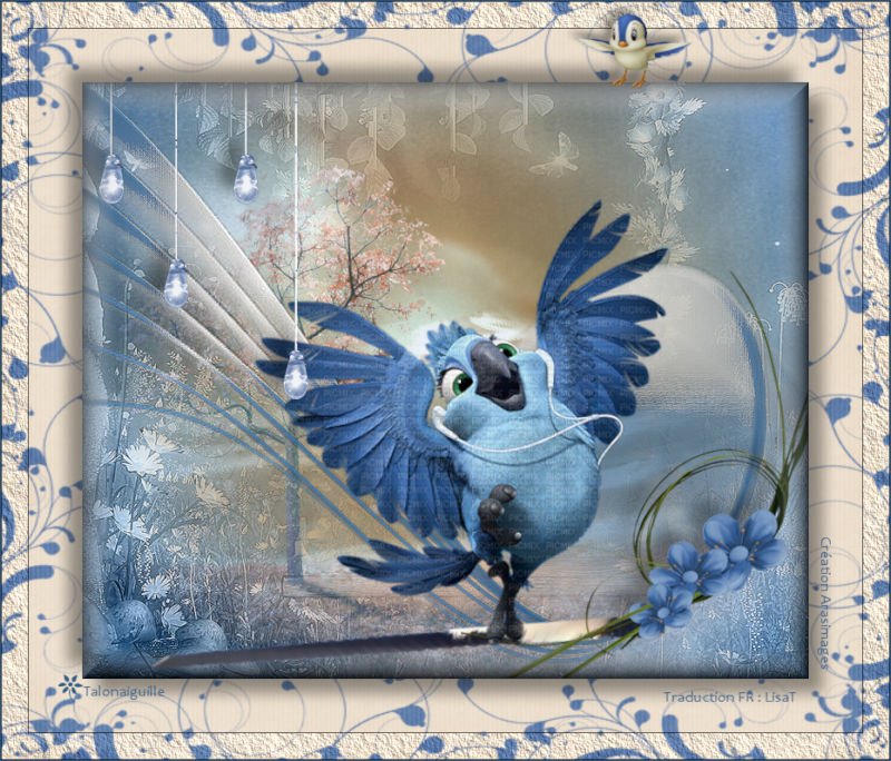 *** Bluebird of Spring (Oiseau bleu du printemps) ***