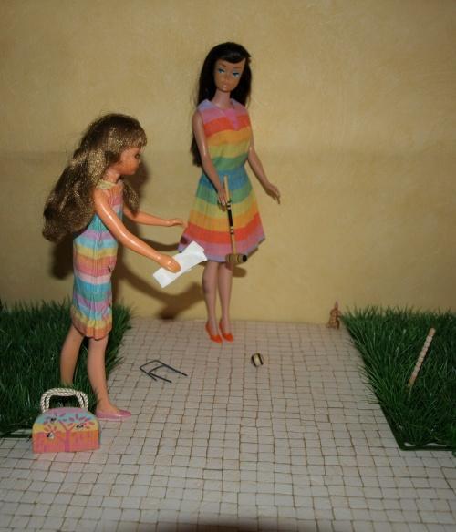 Vintage Barbie : Fun N Games