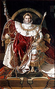 200px-Ingres, Napoleon on his Imperial throne