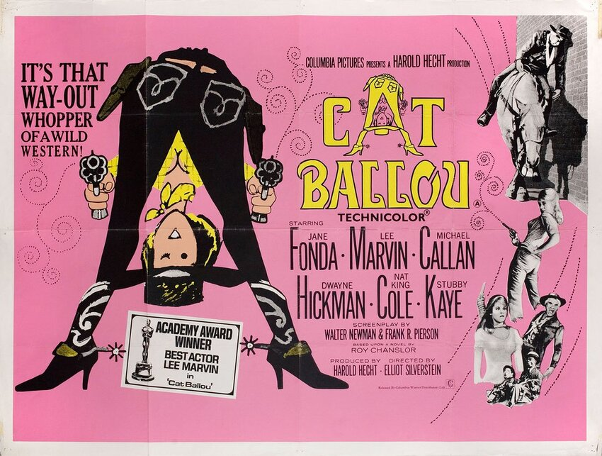CAT BALLOU BOX OFFICE USA 1966