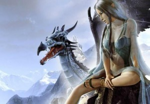 Hidden stars - Dragon beauty