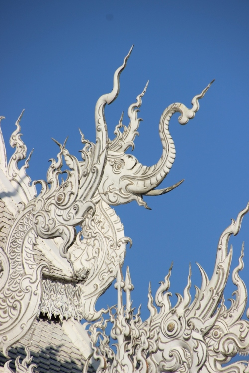 Le temple blanc à Chang Rai (3)