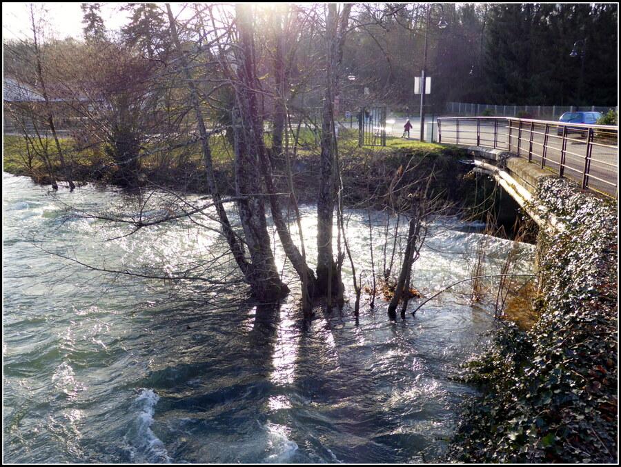 * Ma rivière * : le Furans.