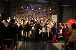 L'Ensemble vocal  à l'église d'Ozon à Chatellerault
