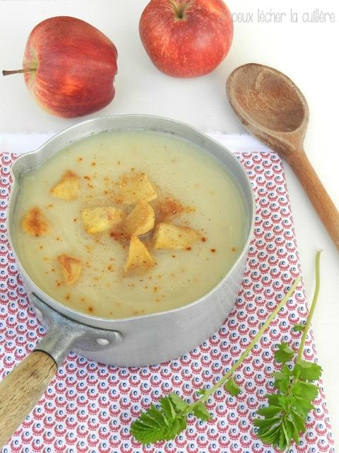 IMAGE : Soupe de panais et pommes
