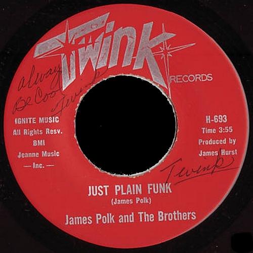 James Polk & The Brothers : Just Plain Funk