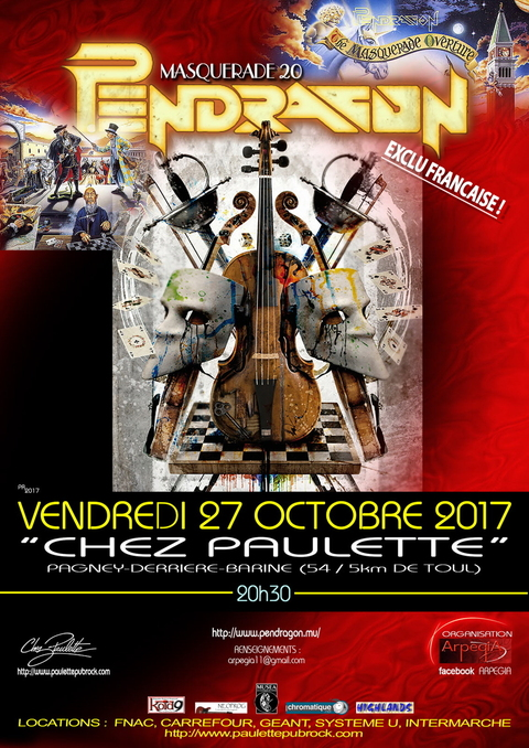 PENDRAGON - Pagney-Derrière-Barine - 27/10/2017
