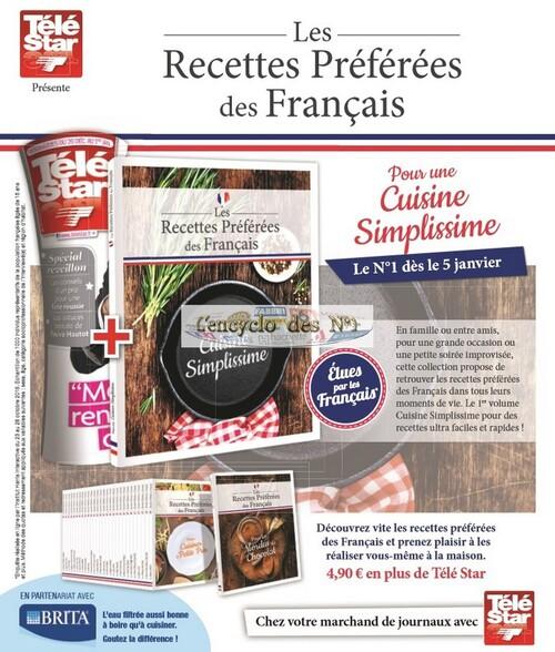N° 1 Les recettes préférées des français - Lancement