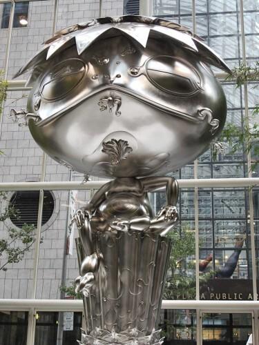 Murakami Oval Buddha by