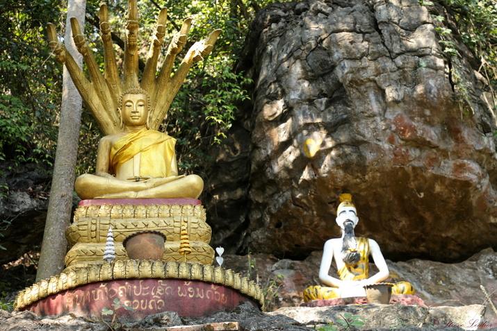 Le Wat That Chomsi sur le Mont Phousi, Luang Prabang