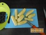 Crumble pomme rhubarbe et flocons d'avoine