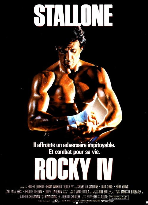 ROCKY 4 - BOX OFFICE SYLVESTER STALLONE 1986