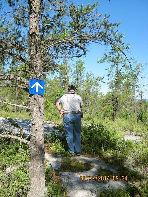 Sentier des 3 lacs, Preissac, Abitibi-Témiscamingue.