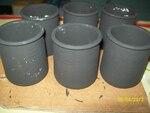 Pot de fleurs, style africain  pour la fete des meres